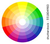illustration of printing color... | Shutterstock .eps vector #551804983