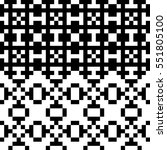 vector seamless pattern.... | Shutterstock .eps vector #551805100