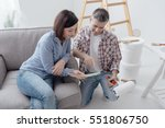 home renovation and decoration  ... | Shutterstock . vector #551806750