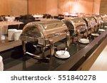 lunch dinner buffet food... | Shutterstock . vector #551840278