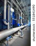 large industrial water... | Shutterstock . vector #551841490