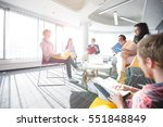 creative business portrait   Shutterstock . vector #551848849