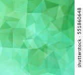 abstract polygonal vector... | Shutterstock .eps vector #551860648