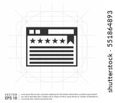 clapperboard open icon on white ...