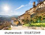 medieval village of frias in Burgos province, spain