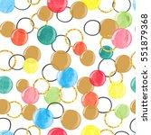vector celebration background.... | Shutterstock .eps vector #551879368