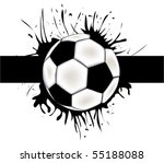 vector football background. | Shutterstock .eps vector #55188088