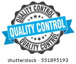 quality control. stamp. sticker.... | Shutterstock .eps vector #551895193