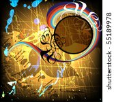 grunge background for text | Shutterstock .eps vector #55189978