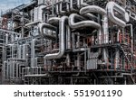 close up industrial view at oil ... | Shutterstock . vector #551901190