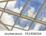 Glass Ceiling With Window....