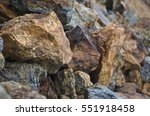 Copper Mineralised Rock Pile ...