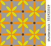 seamless pattern with flowers.... | Shutterstock .eps vector #551923519