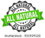 all natural. stamp. sticker.... | Shutterstock .eps vector #551929120