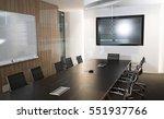 modern business meeting room... | Shutterstock . vector #551937766