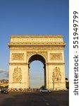 paris  france   august 6  2016  ... | Shutterstock . vector #551949799