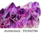 crystal stone macro mineral... | Shutterstock . vector #551962786