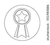 medal icon | Shutterstock .eps vector #551985886