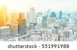 asia business concept for real... | Shutterstock . vector #551991988