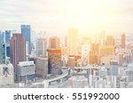 asia business concept for real... | Shutterstock . vector #551992000