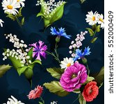 seamless background pattern of... | Shutterstock .eps vector #552000409