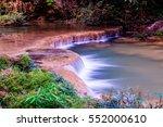 tansawan waterfall in doi phu... | Shutterstock . vector #552000610