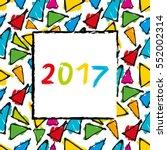 Spanish Calendar 2017 Template.