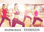 fitness  sport  training  gym... | Shutterstock . vector #552005224