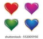 love logo vector template | Shutterstock .eps vector #552005950