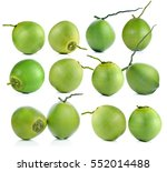 coconut isolated on white... | Shutterstock . vector #552014488