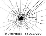 broken glass. | Shutterstock .eps vector #552017290