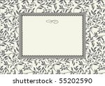 seamless pattern and decorative ... | Shutterstock .eps vector #55202590