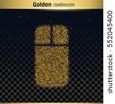 gold glitter vector icon   Shutterstock .eps vector #552045400