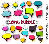 empty comic collection trendy... | Shutterstock .eps vector #552046060