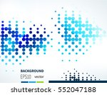 abstract background with...   Shutterstock .eps vector #552047188
