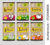 set of colorful labels  sketch... | Shutterstock .eps vector #552048808