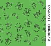st.patricks day pattern | Shutterstock .eps vector #552049006