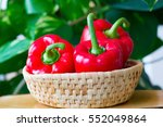 close up of red peppers in... | Shutterstock . vector #552049864