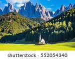 the symbol of the valley val... | Shutterstock . vector #552054340