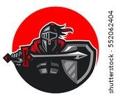 dark knight | Shutterstock .eps vector #552062404