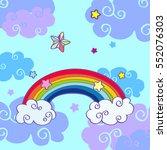 vector hand drawn cartoon...   Shutterstock .eps vector #552076303