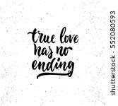 True Love Has No Ending  ...