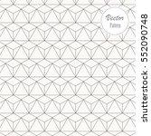 geometric vector pattern ... | Shutterstock .eps vector #552090748