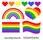 vector gay lgbt rainbow symbols....
