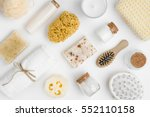 various spa and beauty... | Shutterstock . vector #552110158