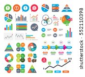 business charts. growth graph.... | Shutterstock .eps vector #552110398
