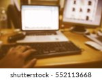 picture blurred  for background ... | Shutterstock . vector #552113668