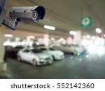 cctv installed on the wall to...   Shutterstock . vector #552142360