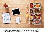 healthy restaurant business... | Shutterstock . vector #552145768