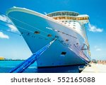 cruise vacation. cruise ship... | Shutterstock . vector #552165088